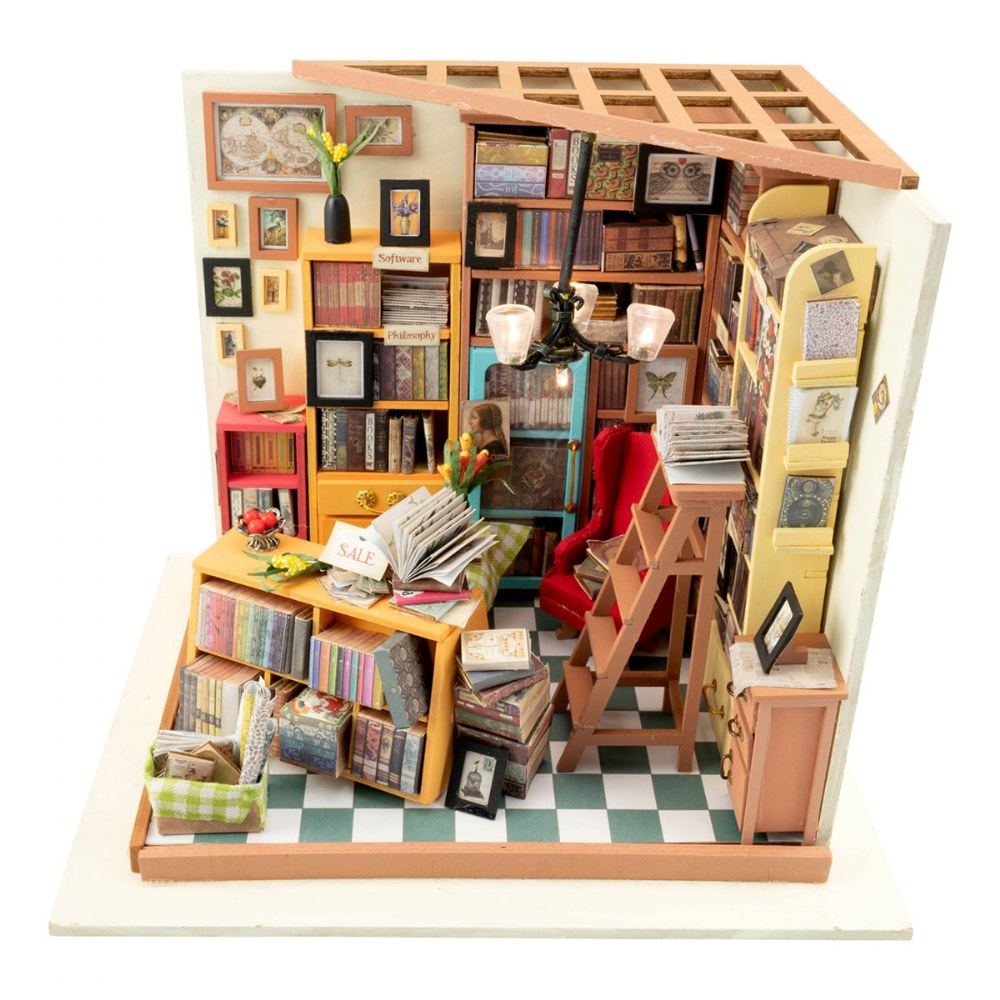 Alternate Image #1 of 3D Wooden Puzzles - Miniature House: Sam's Study