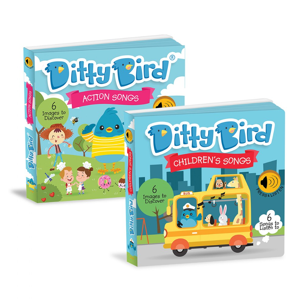 Ditty Bird - Children's Songs and Action Songs Books