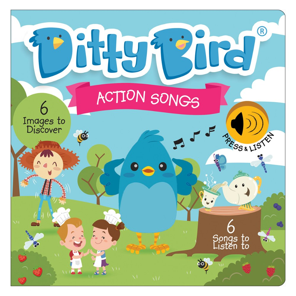 Alternate Image #1 of Ditty Bird - Children's Songs and Action Songs Books