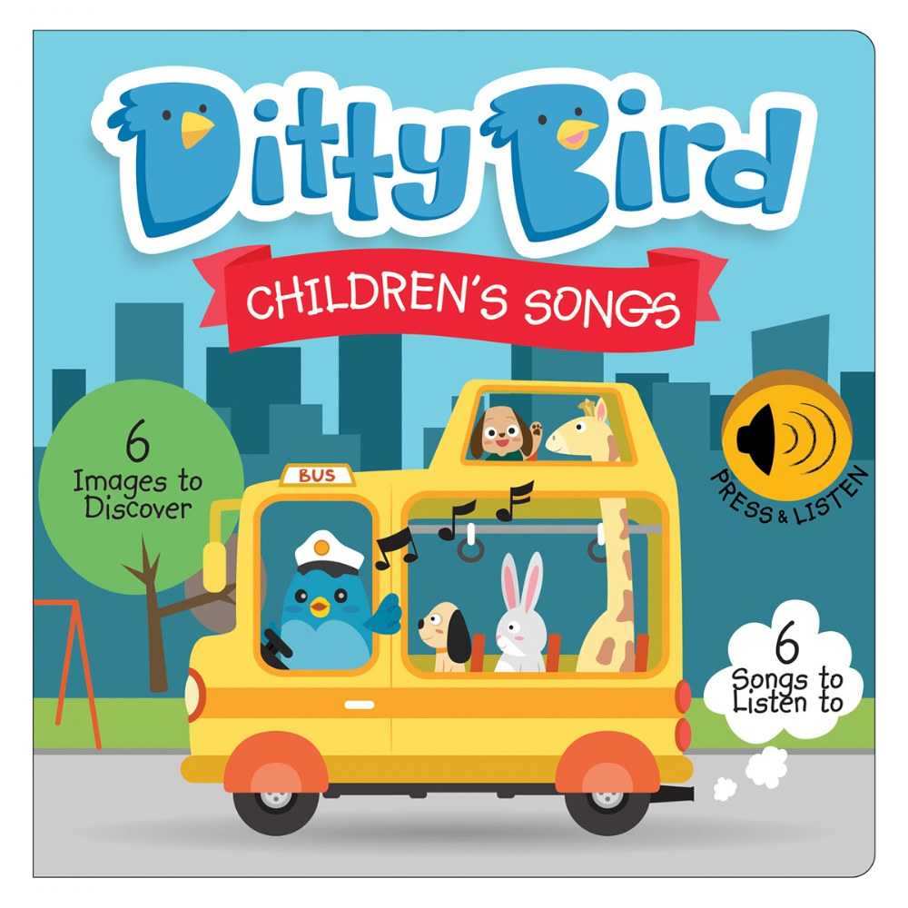 Alternate Image #3 of Ditty Bird - Children's Songs and Action Songs Books
