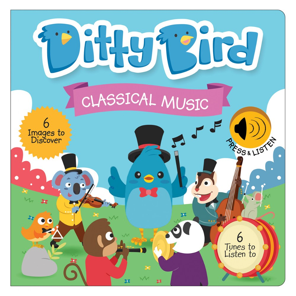 Alternate Image #1 of Ditty Bird Instrumental and Classical Song Books - Set of 2
