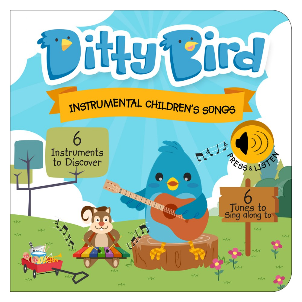 Alternate Image #3 of Ditty Bird Instrumental and Classical Song Books - Set of 2