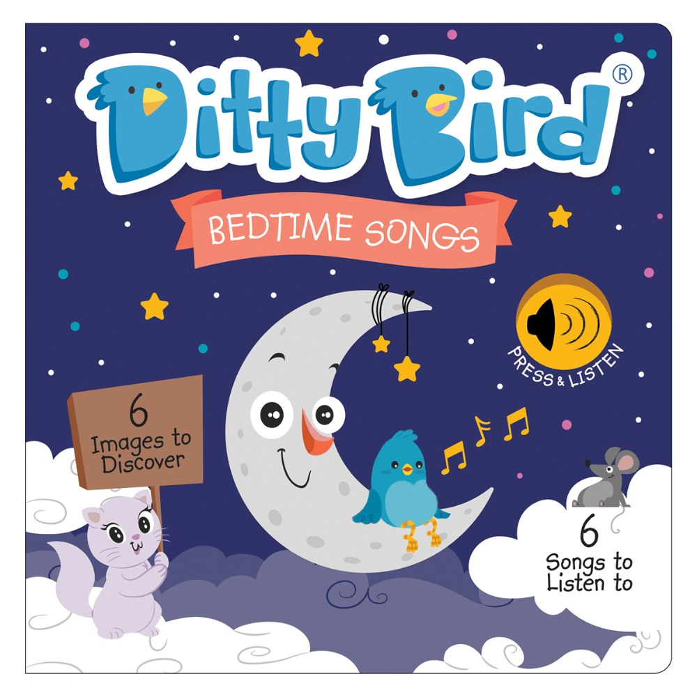 Alternate Image #1 of Ditty Bird Bedtime and Nursery Rhyme Song Books - Set of 2