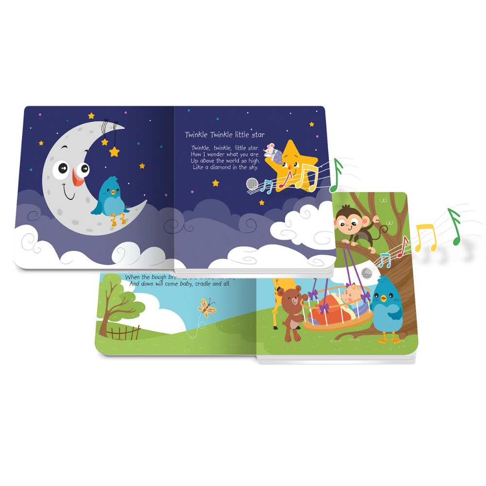 Alternate Image #2 of Ditty Bird Bedtime and Nursery Rhyme Song Books - Set of 2