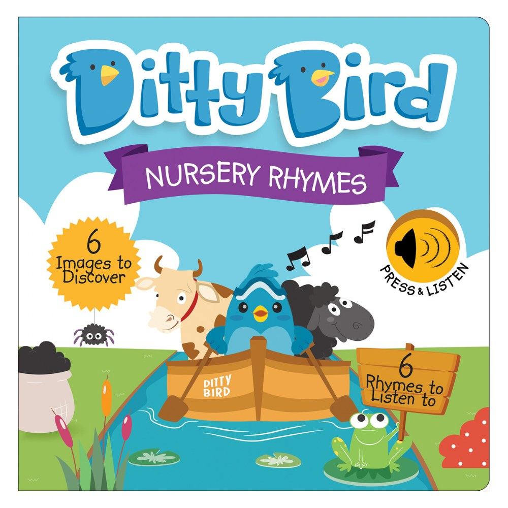 Alternate Image #3 of Ditty Bird Bedtime and Nursery Rhyme Song Books - Set of 2