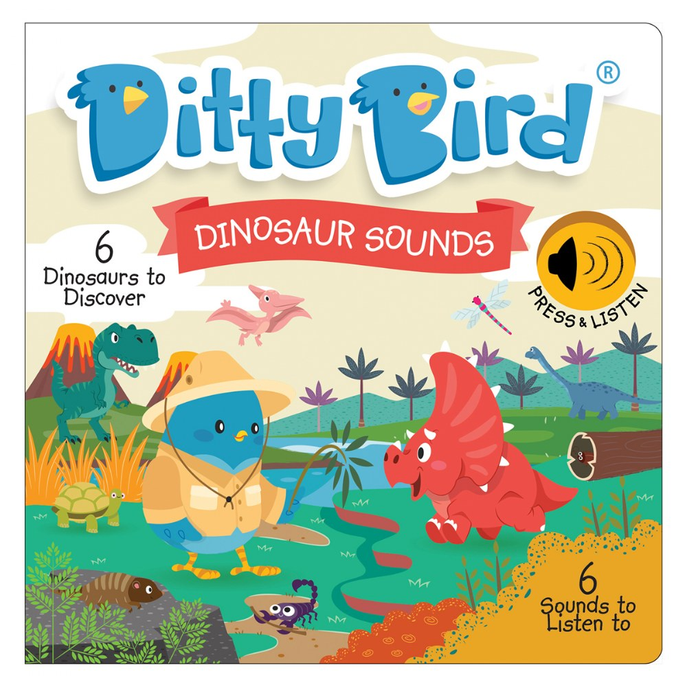 Alternate Image #3 of Ditty Bird Safari Animal and Dinosaur Sound Books - Set of 2