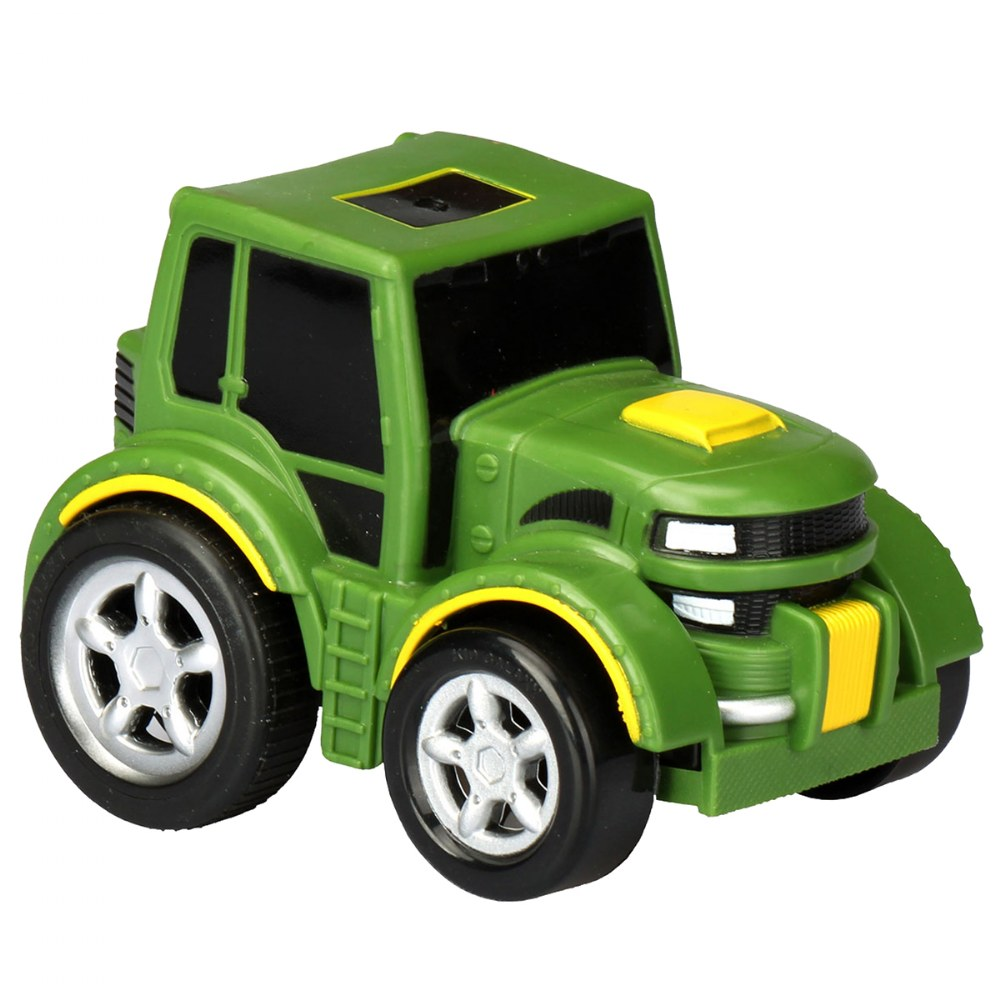 Alternate Image #11 of Pull-Back Tractor, Dump Truck and Bulldozer