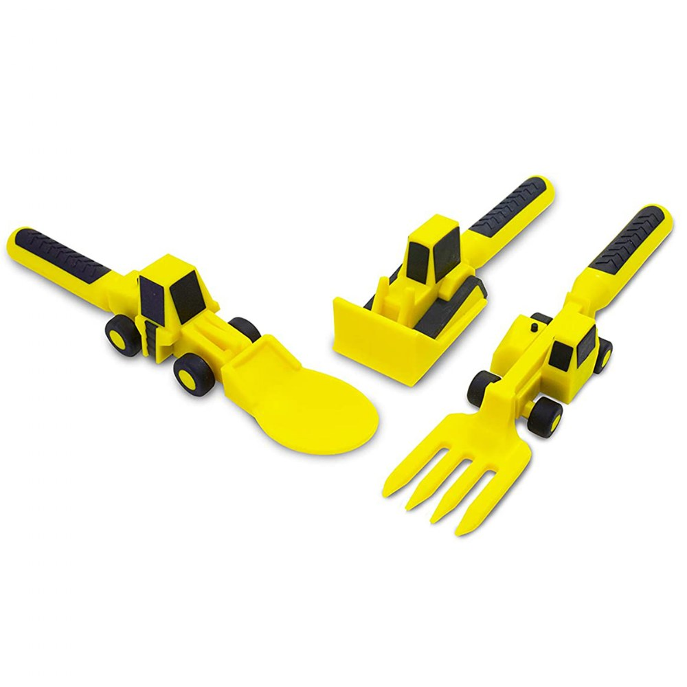 Alternate Image #13 of Constructive Eating Construction Themed Meal Accessories