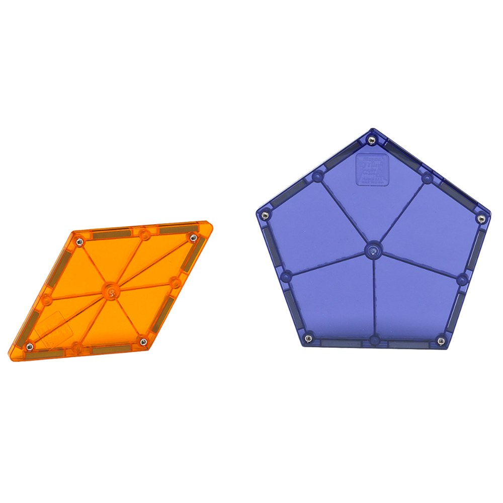 Alternate Image #1 of Magna-Tiles® Polygons Expansion Set - 8 Piece Set