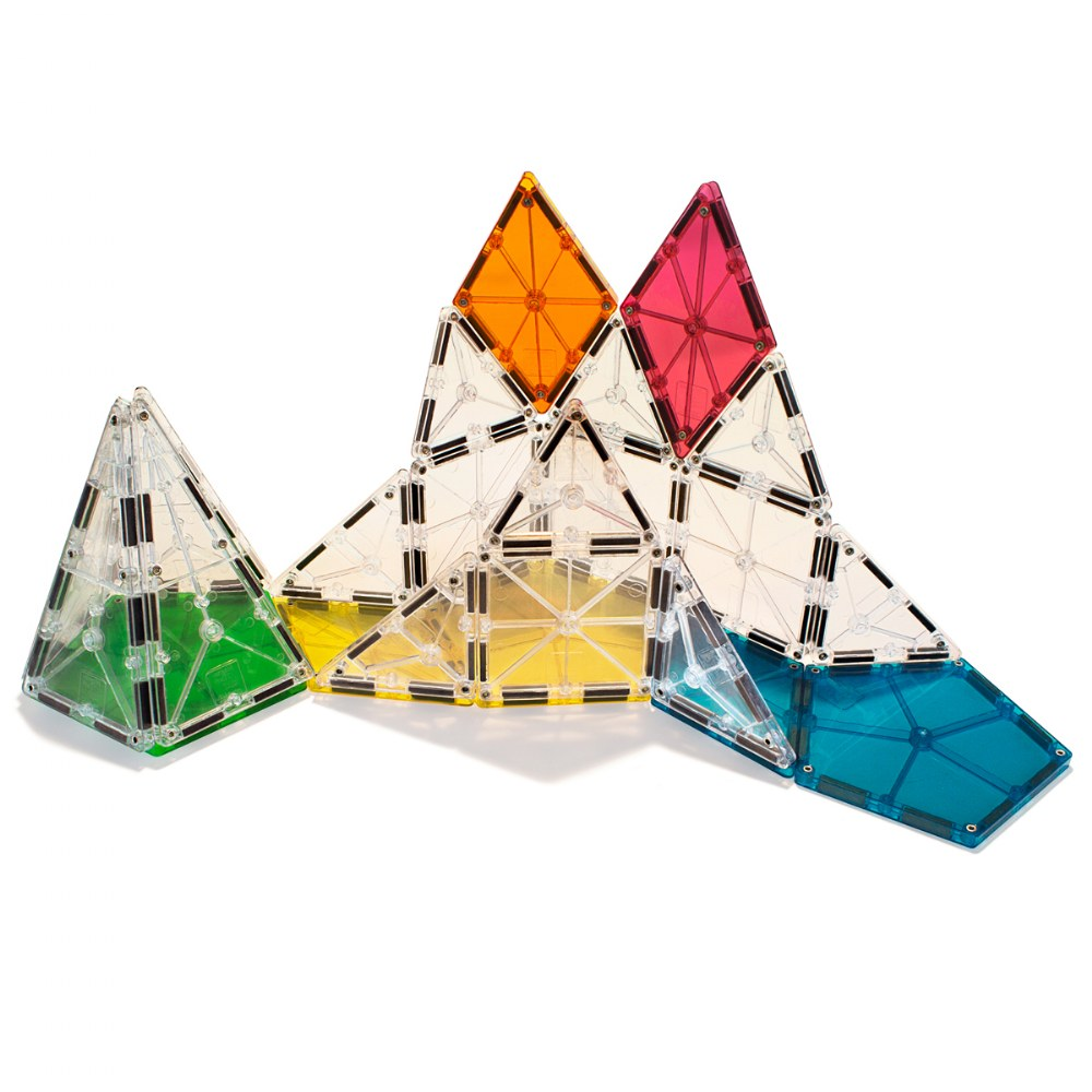 Alternate Image #3 of Magna-Tiles® Polygons Expansion Set - 8 Piece Set