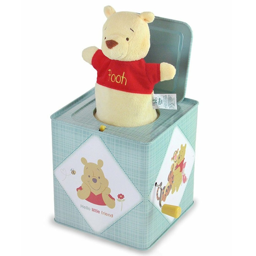 Alternate Image #1 of Winnie The Pooh Jack-in-The-Box Musical Toy