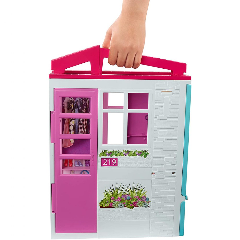 Alternate Image #3 of Barbie® and Close & Go Doll House - Blonde