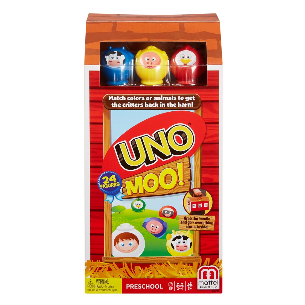 UNO Moo! Color & Animal Matching Game