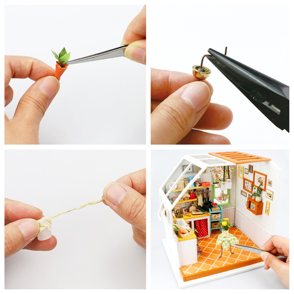 Alternate Image #9 of DIY 3D Wooden Puzzles - Miniature House: Jason's Kitchen