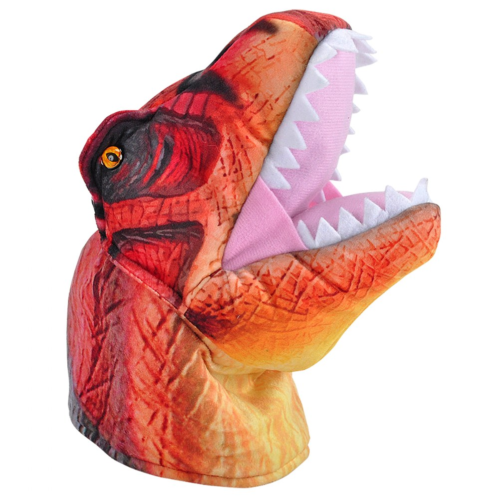 Alternate Image #3 of Dino Puppets with Sound Set - T-Rex, Pteranodon & Triceratops