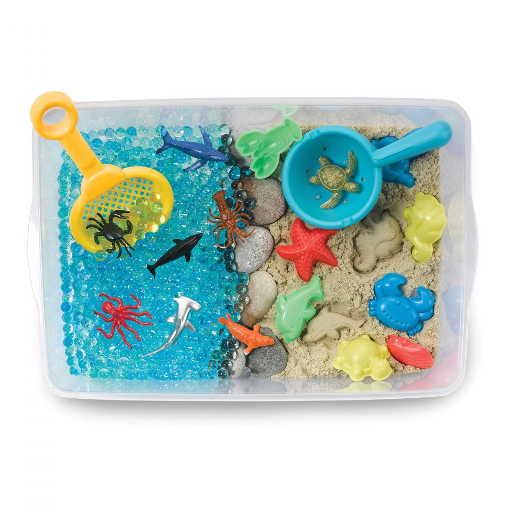 Alternate Image #1 of Ocean & Sand Sensory Bin