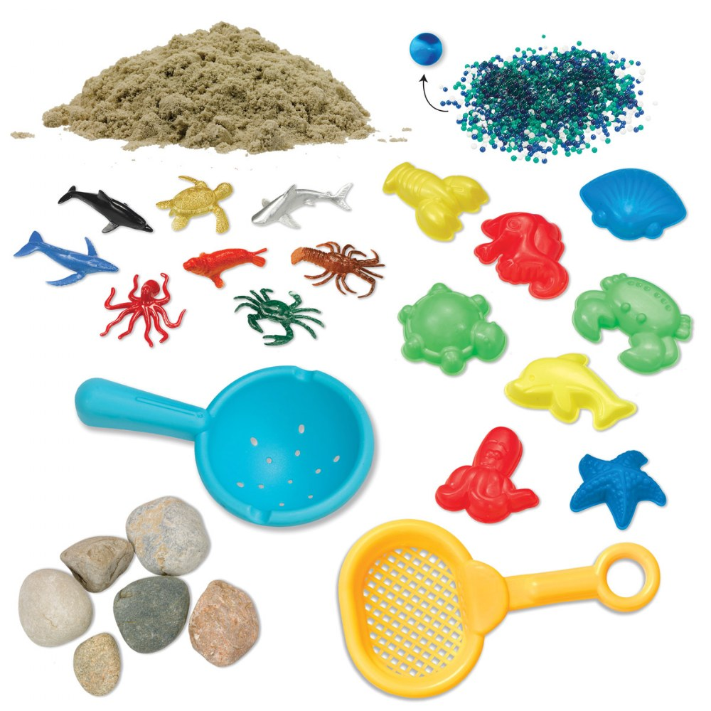 Alternate Image #4 of Ocean & Sand Sensory Bin