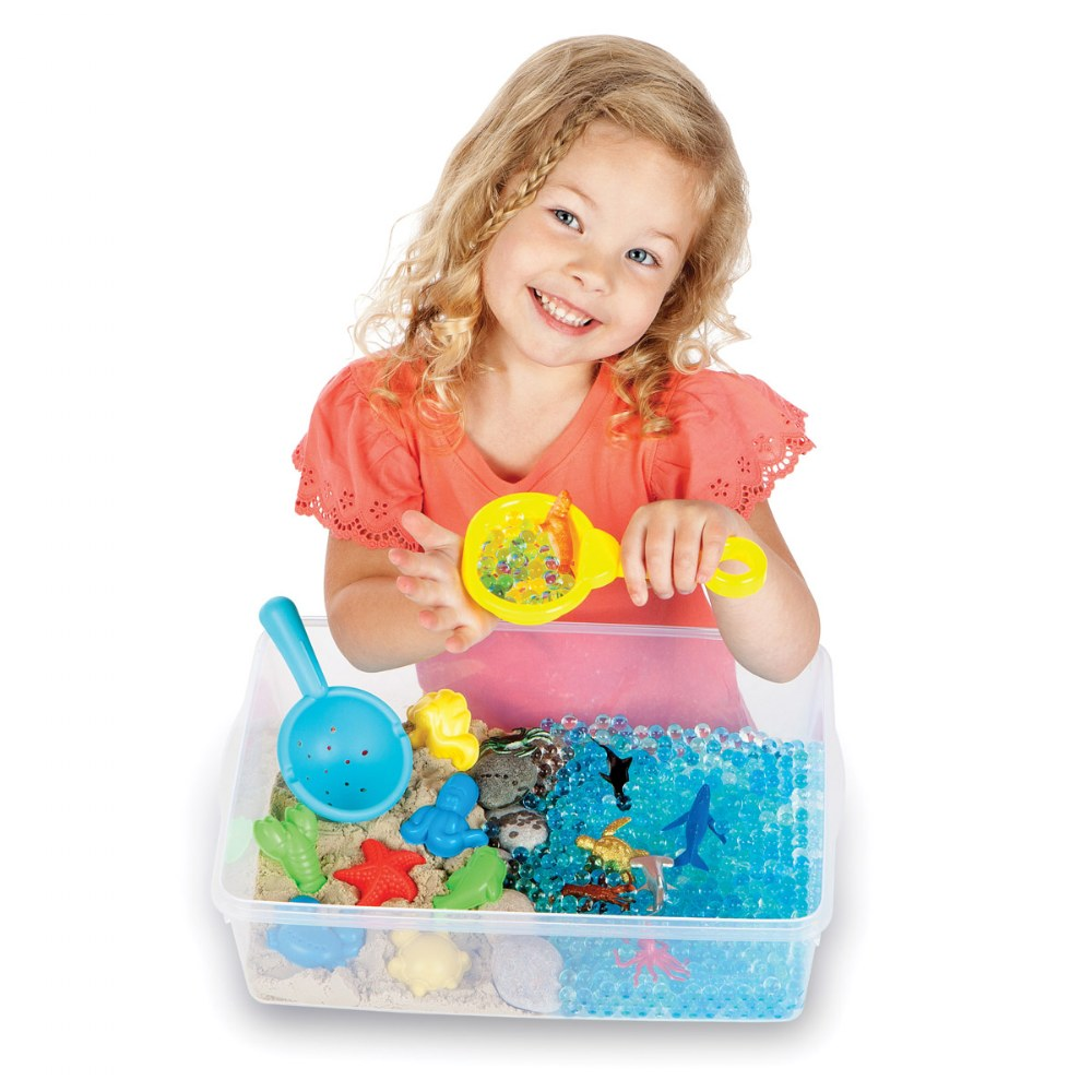 Alternate Image #6 of Ocean & Sand Sensory Bin