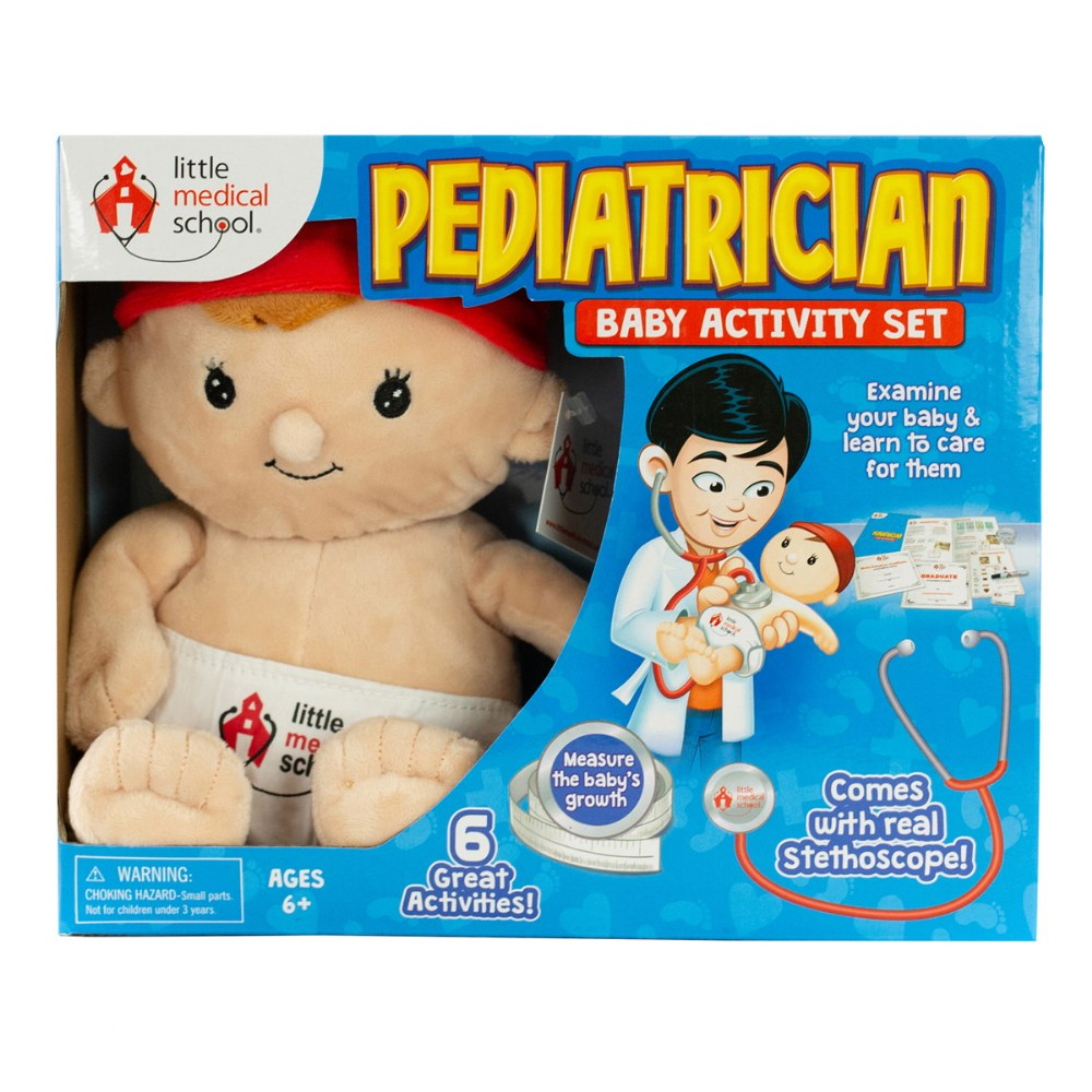 Pediatrician Baby Activity Set - 6 Great Activities