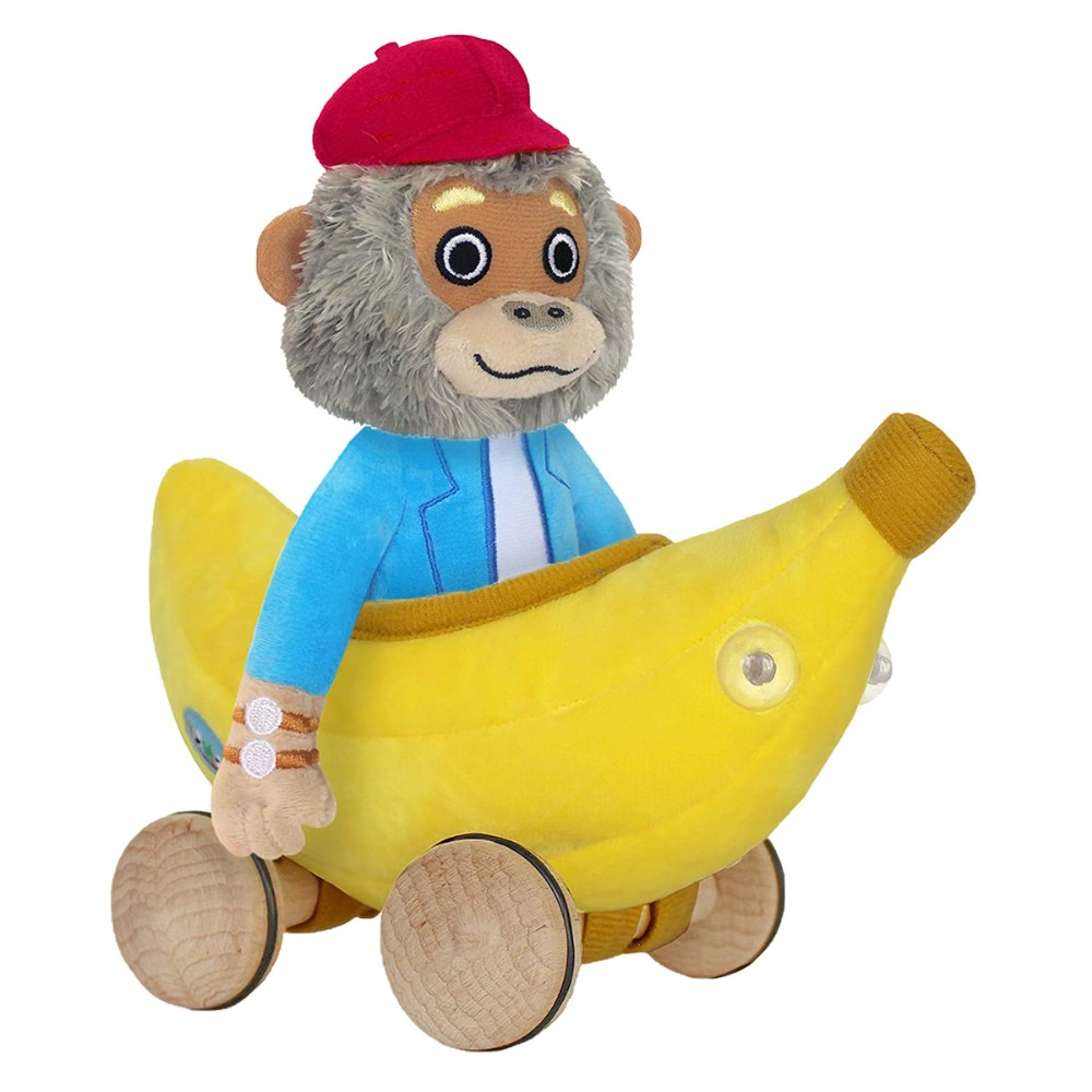 Bananas Gorilla Soft Toy & Richard Scarry Hardcover Book