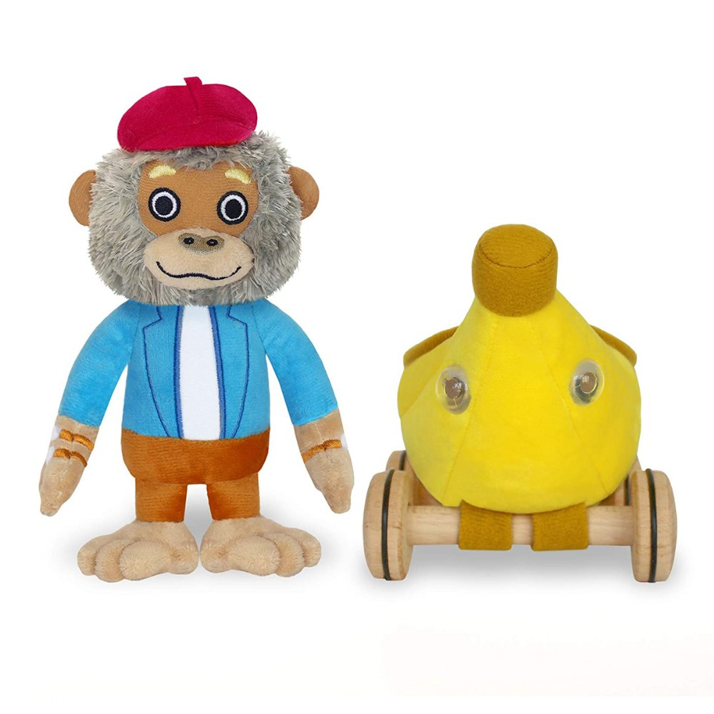 Alternate Image #2 of Bananas Gorilla Soft Toy & Richard Scarry Hardcover Book