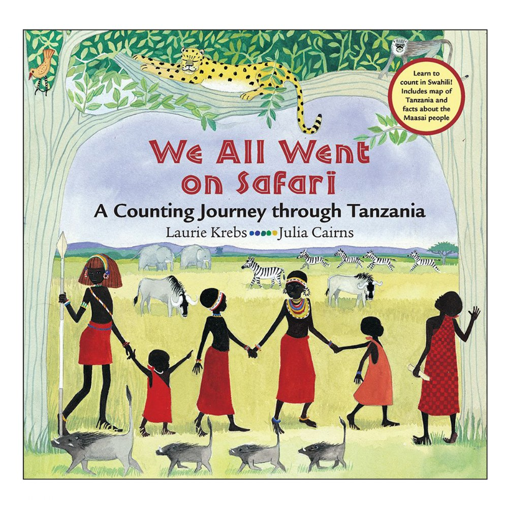 We All Went On Safari: A Counting Journey through Tanzania - Paperback