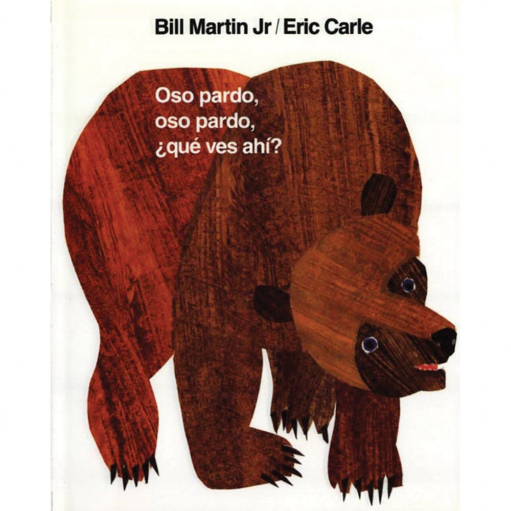 Brown Bear, Brown Bear what Do You See? (Spanish) - Board Book