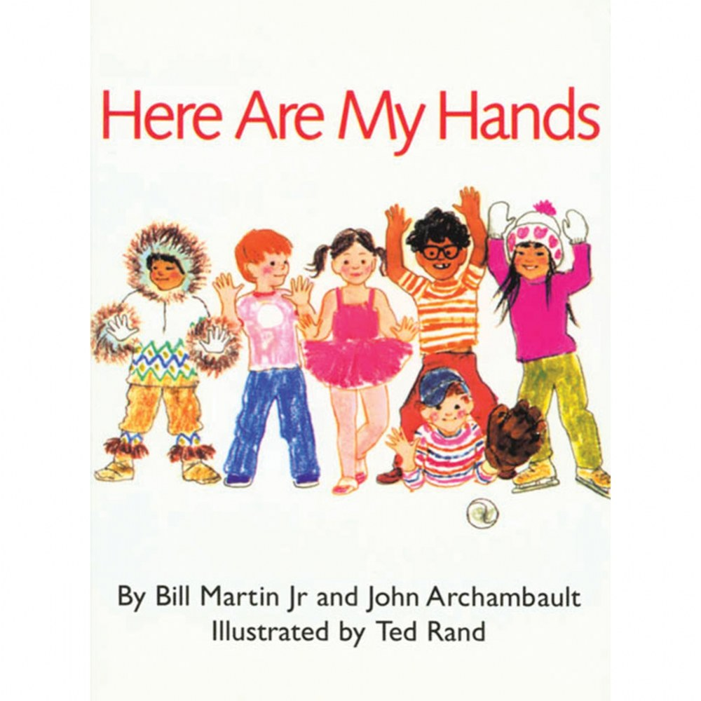 Here Are My Hands - Board Book