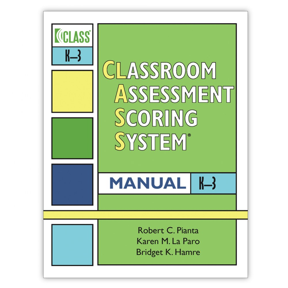 CLASS® Manual, Grades K-3 - English