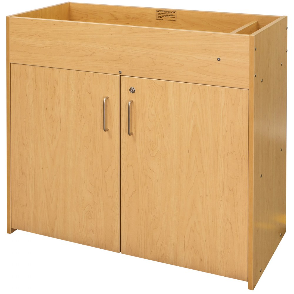 Alternate Image #1 of Changing Table with Doors