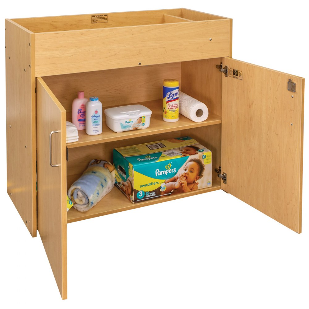 Alternate Image #6 of Changing Table with Doors