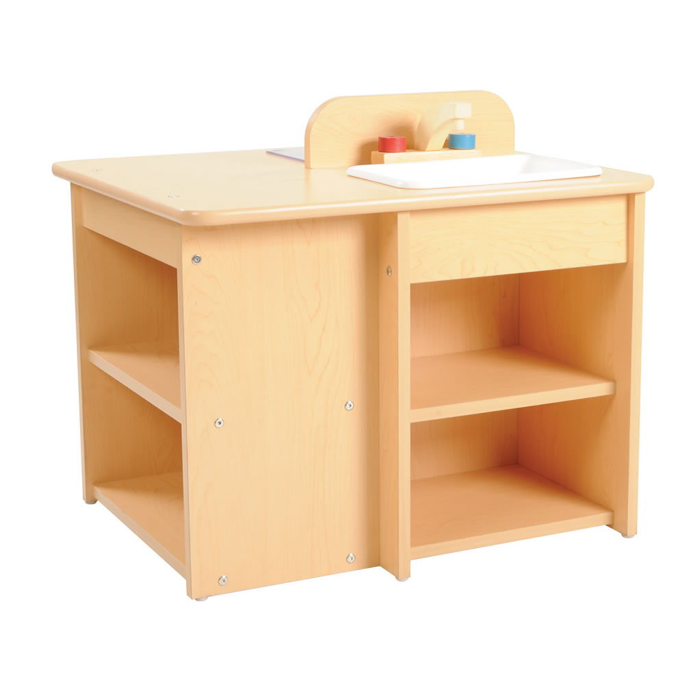 Alternate Image #1 of Classic Maple Laminate Toddler Kitchen