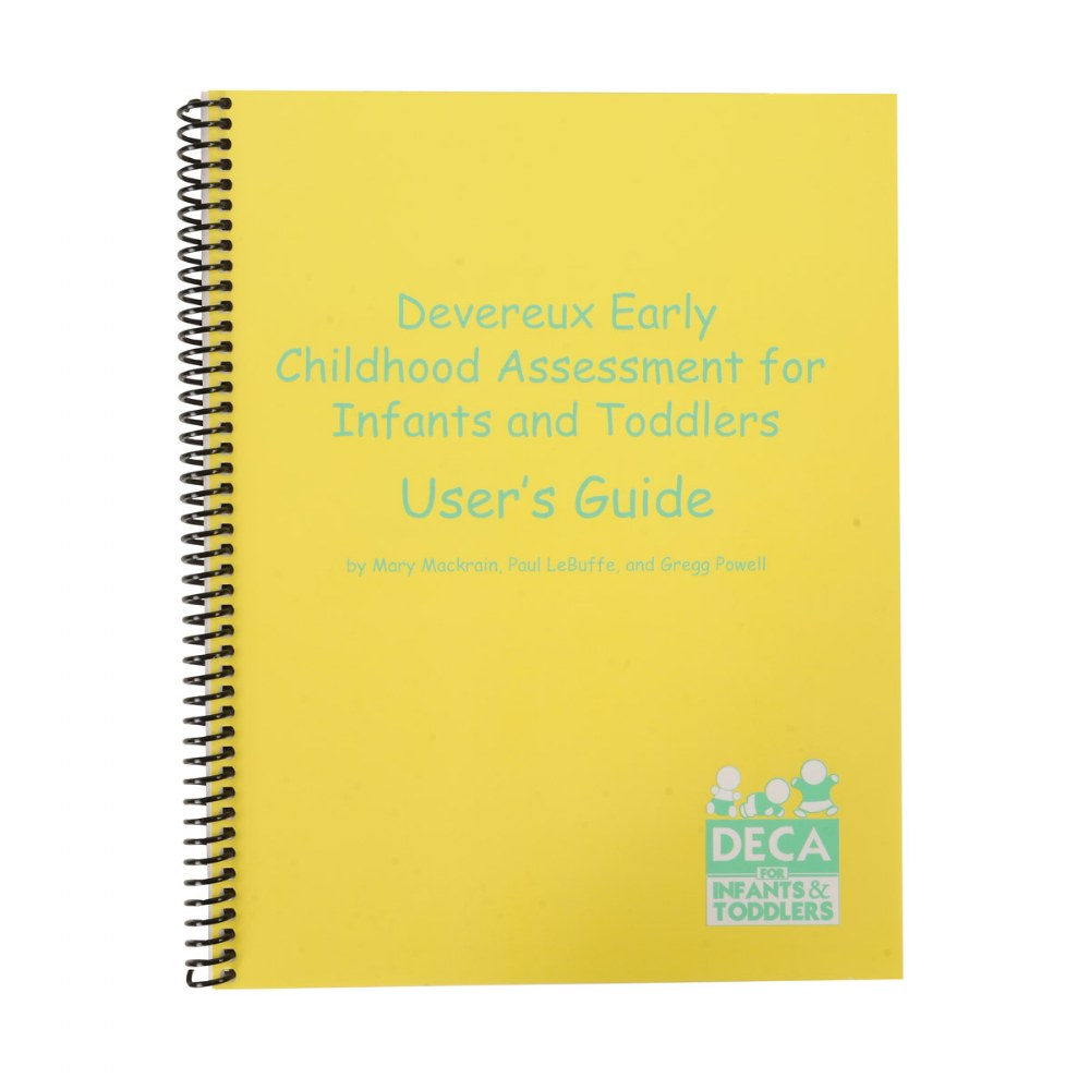 Alternate Image #2 of DECA Early Childhood Assessment for Infants/Toddlers (DECA-I/T) Kit
