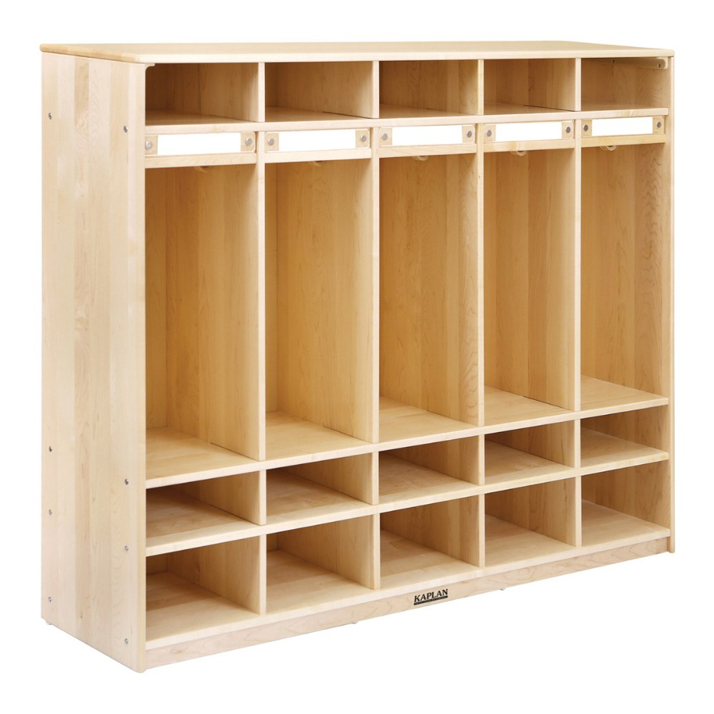 Premium Solid Maple Coat Lockers