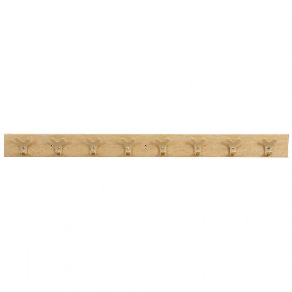Premium Solid Maple Coat Rack