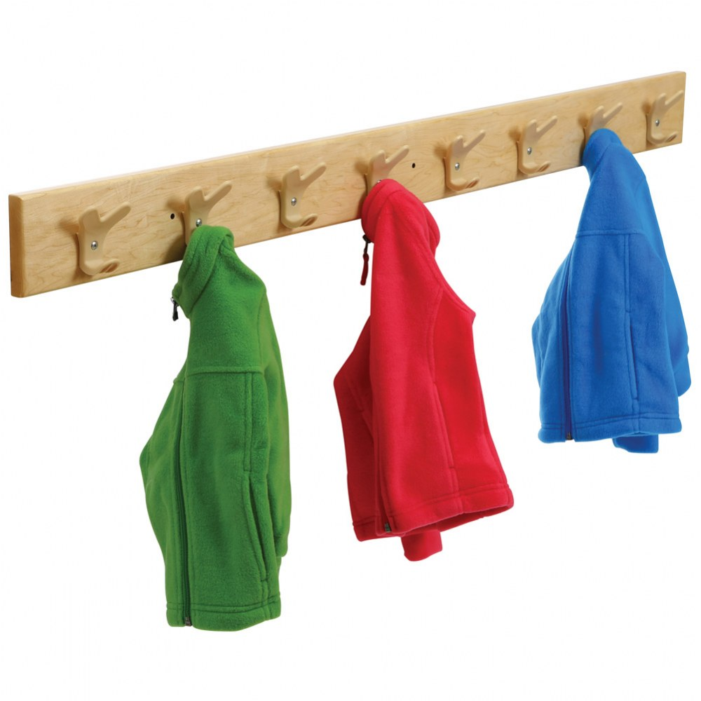 Alternate Image #3 of Premium Solid Maple Coat Rack