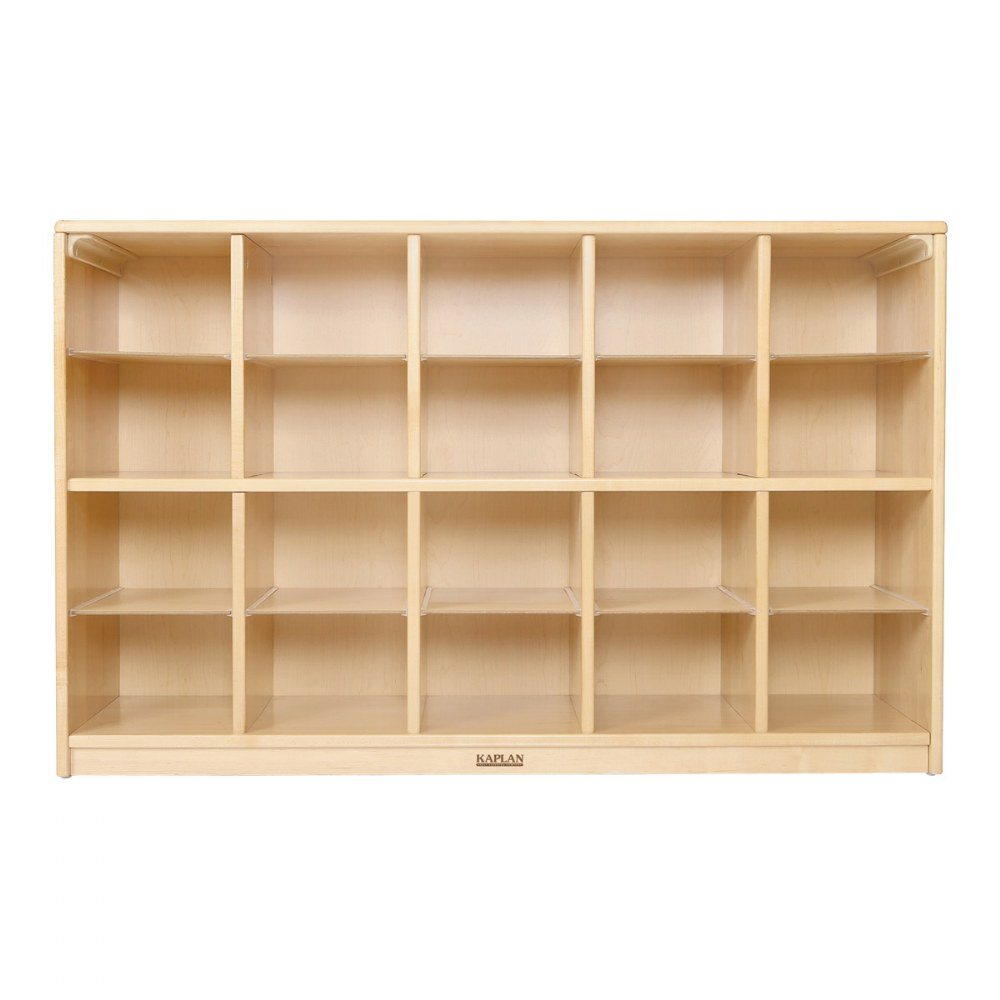 Alternate Image #1 of Premium Solid Maple 20-Bin Storage