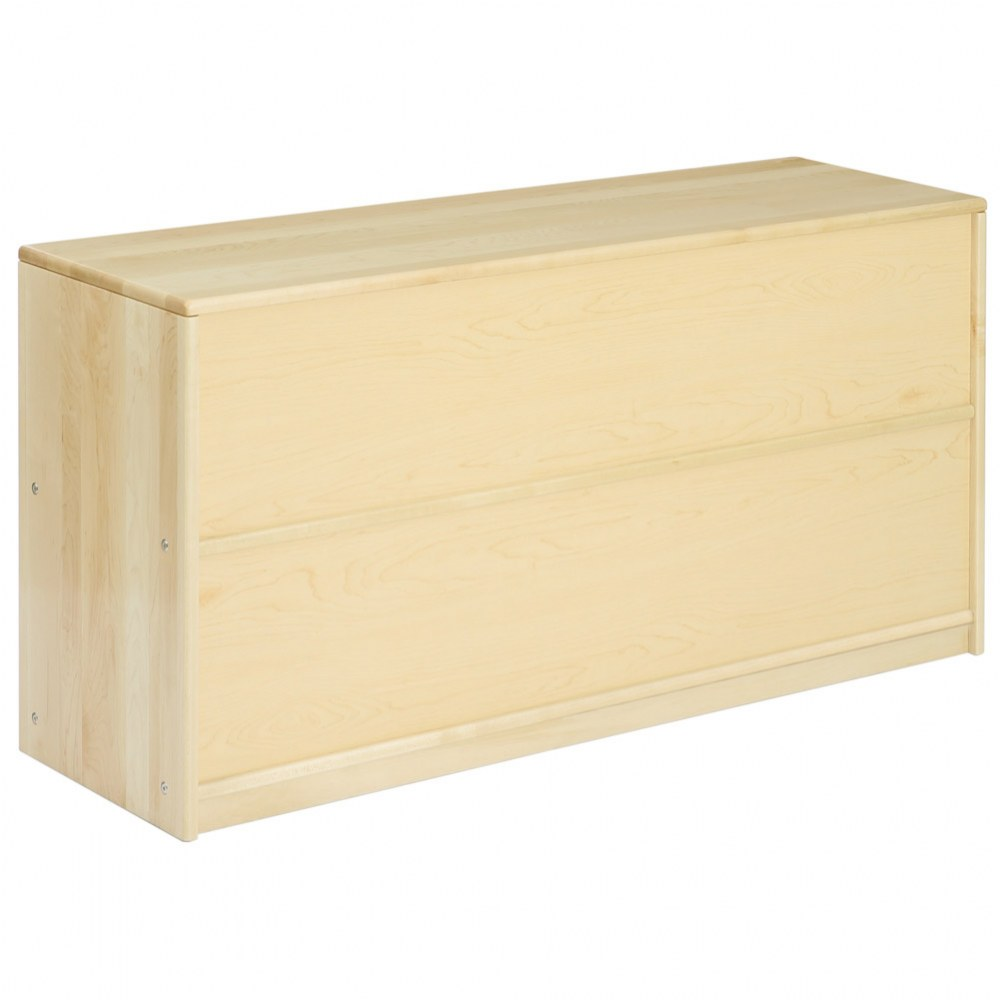 Alternate Image #3 of Premium Solid Maple 5-Compartment Storage Unit
