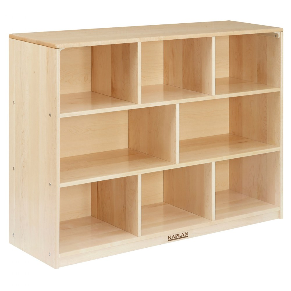 Premium Solid Maple Multipurpose Shelf Storage
