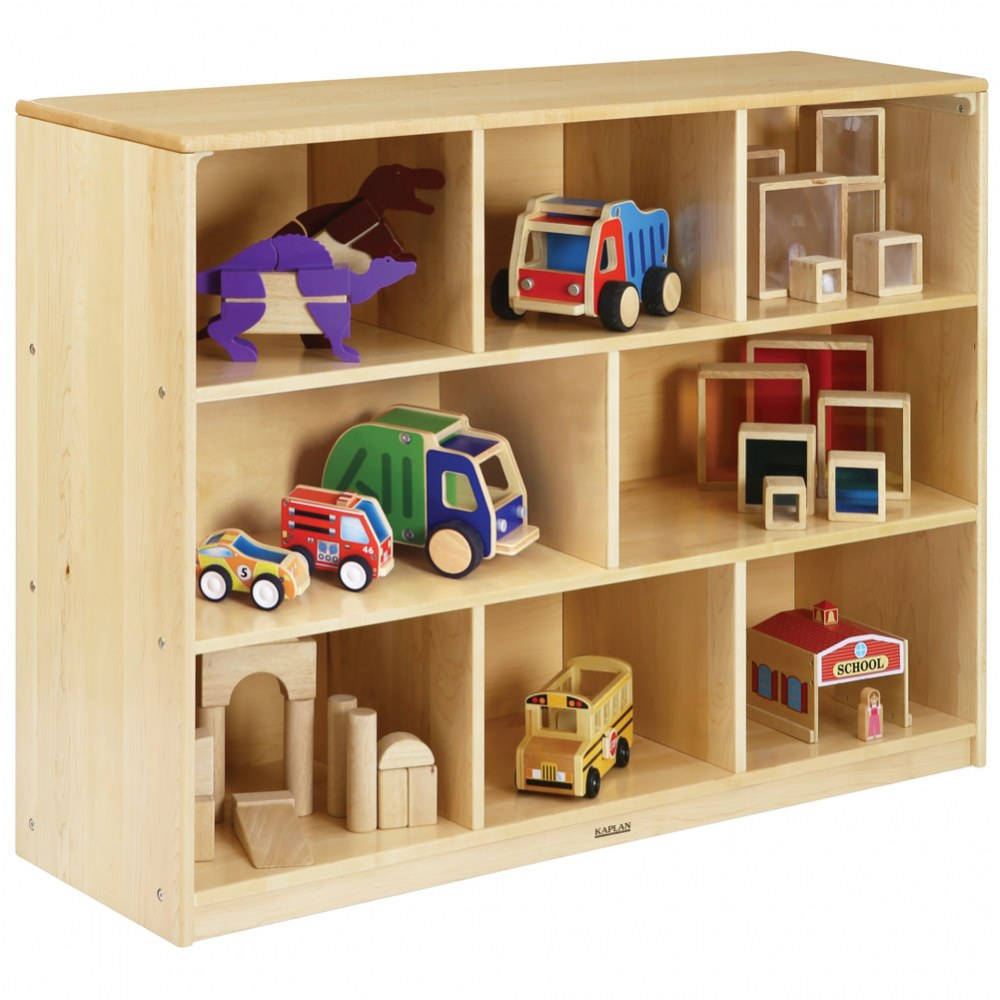 Alternate Image #1 of Premium Solid Maple Multipurpose Shelf Storage