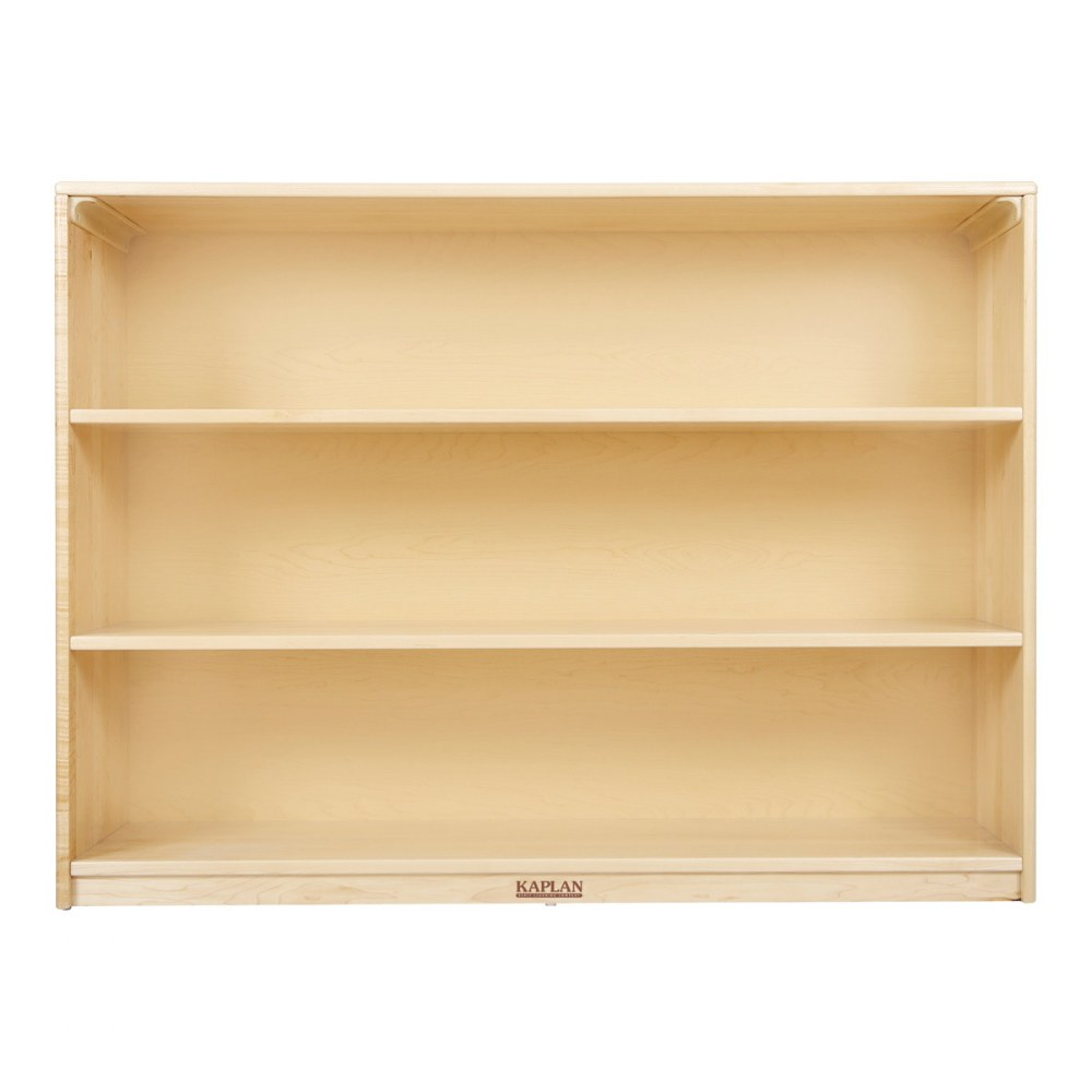 Alternate Image #1 of Premium Solid Maple 3-Shelf Storage
