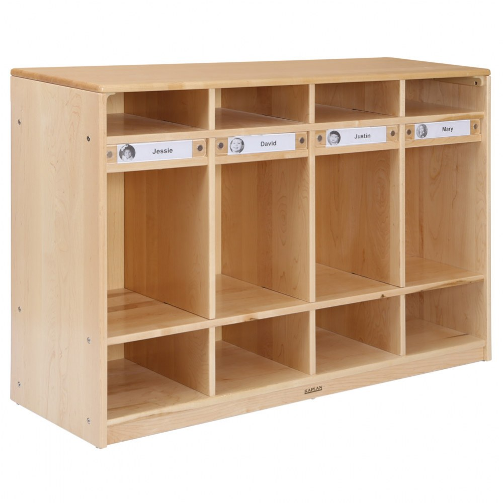 Premium Solid Maple 4-Section Locker