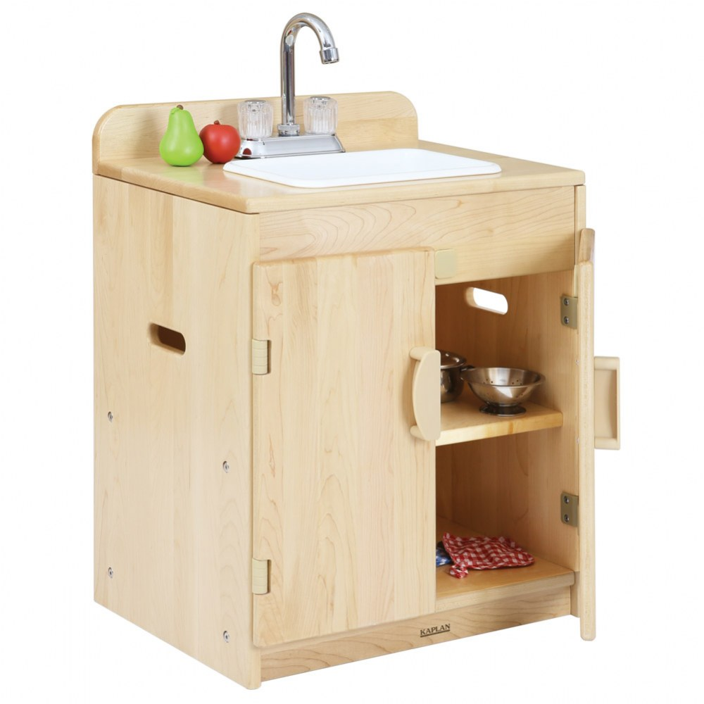 Alternate Image #1 of Premium Solid Maple Sink - Factory Second