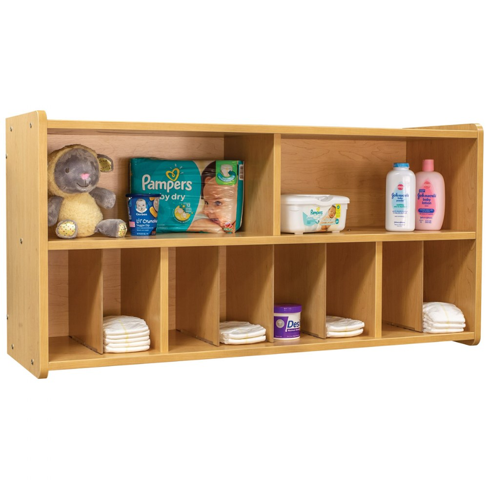 Alternate Image #3 of Diaper Wall Storage - Natural
