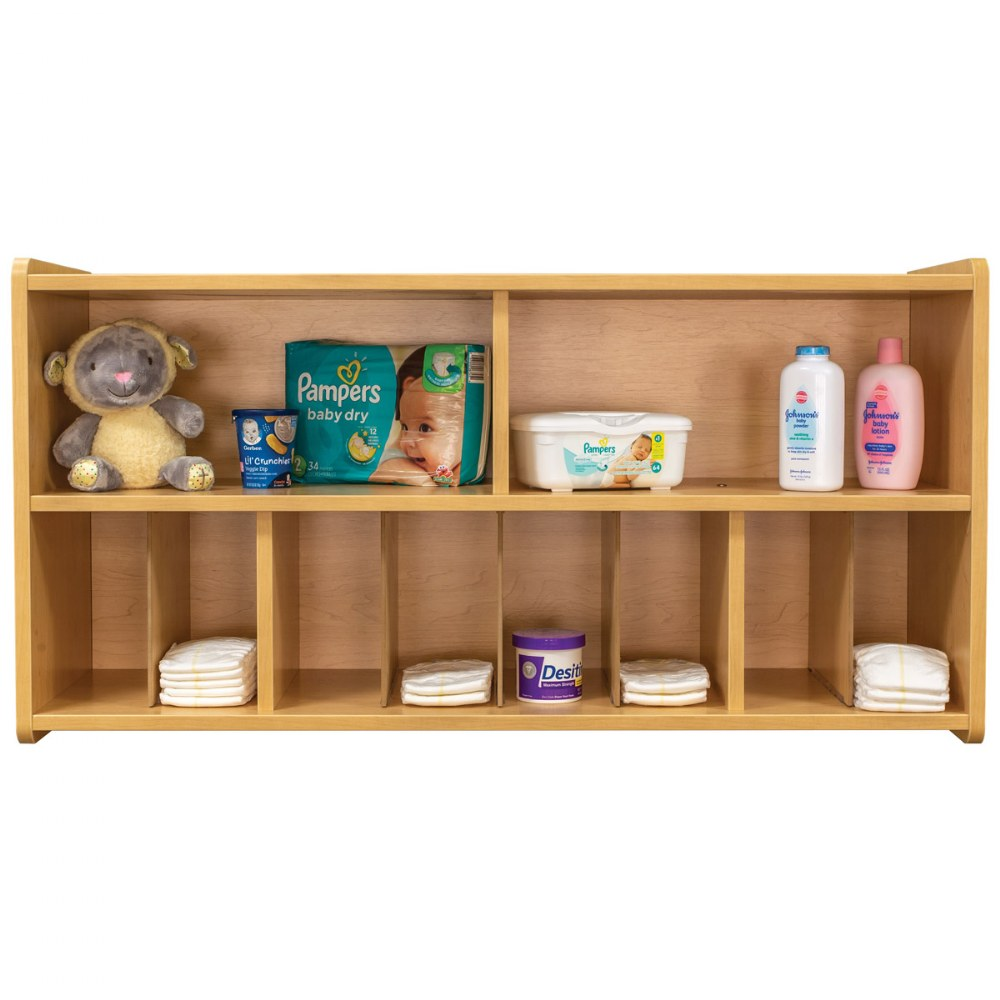 Alternate Image #5 of Diaper Wall Storage - Natural