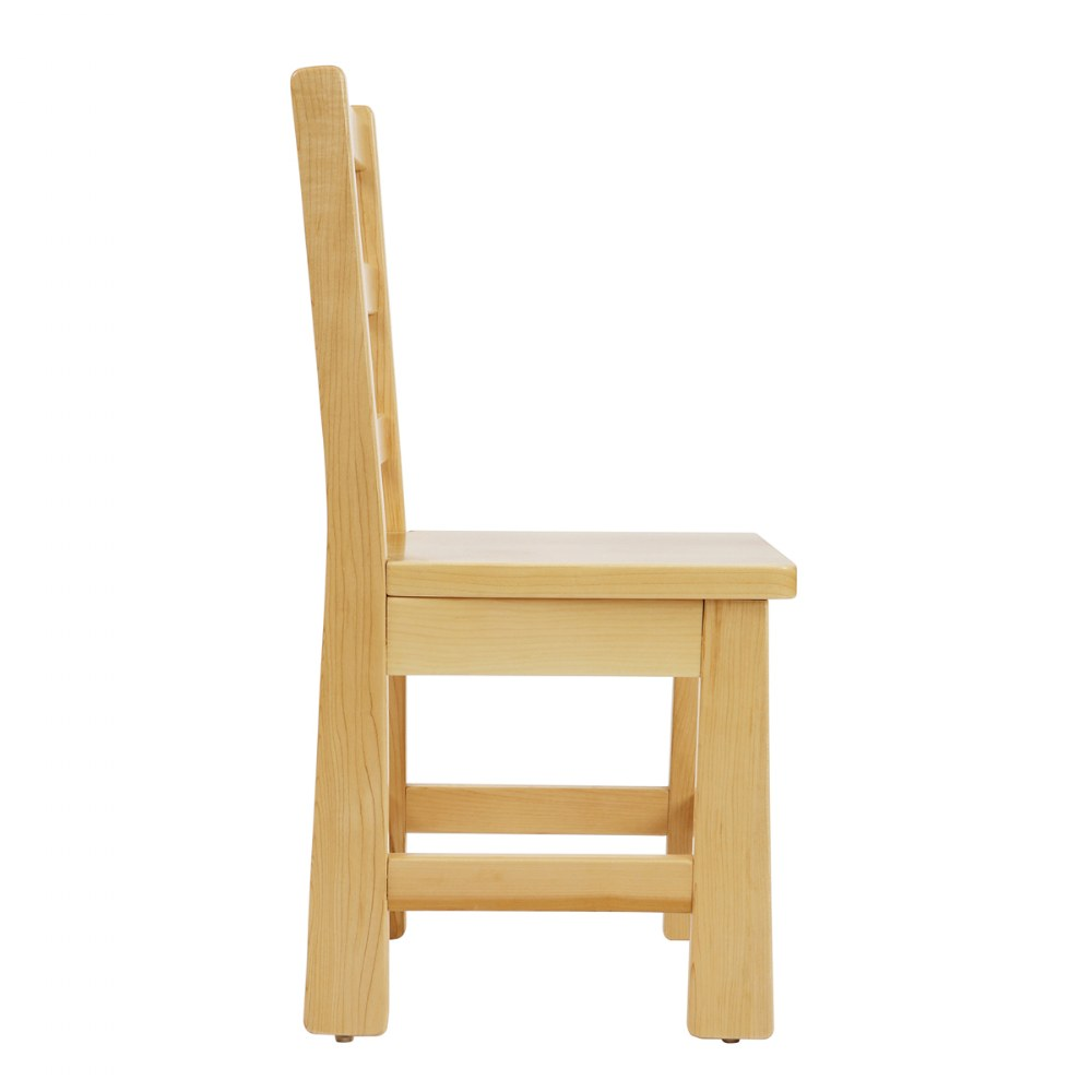 Alternate Image #2 of Premium Solid Maple Chairs - Set of 2