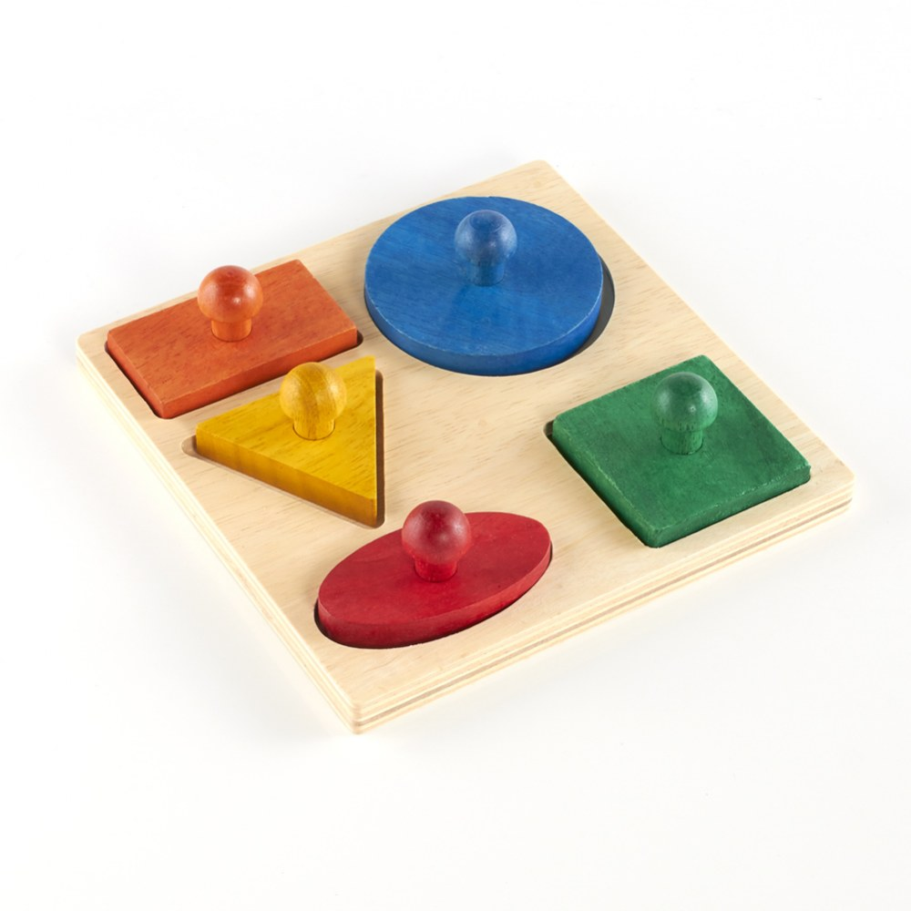 Alternate Image #2 of Geometric Puzzle Board