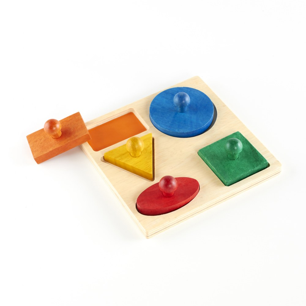 Alternate Image #3 of Geometric Puzzle Board