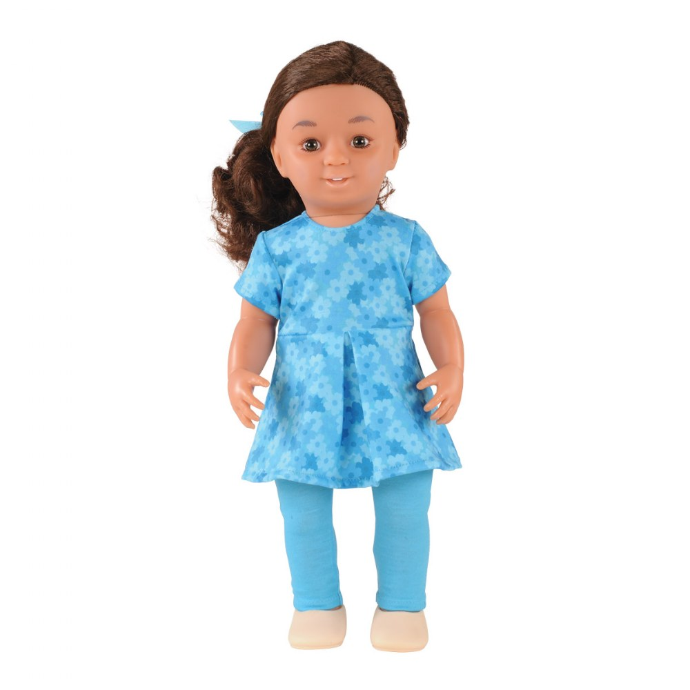 "16"" Multiethnic Dolls"