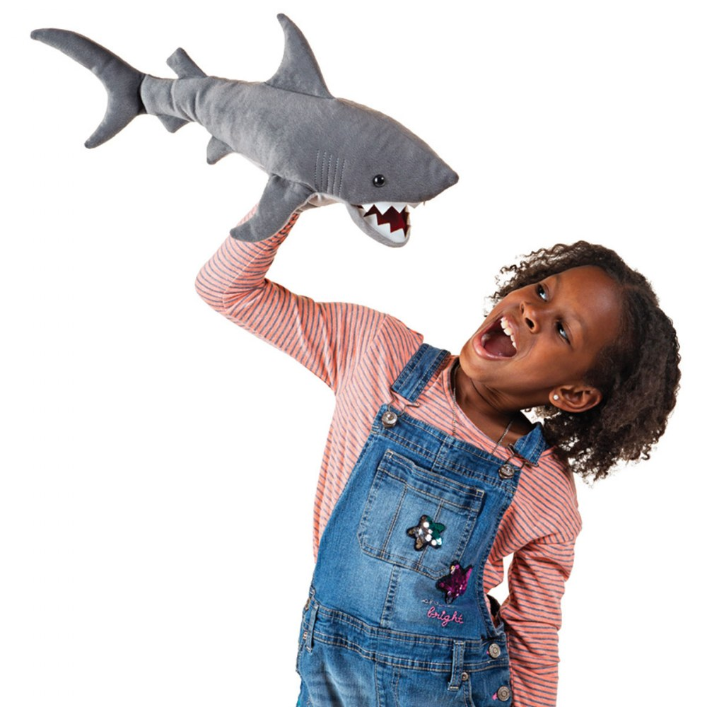 Alternate Image #2 of Shark Hand Puppet